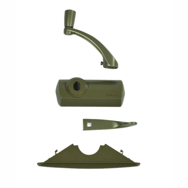 classic style stone hardware pack