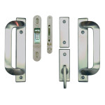Satin Nickel anvers hardware